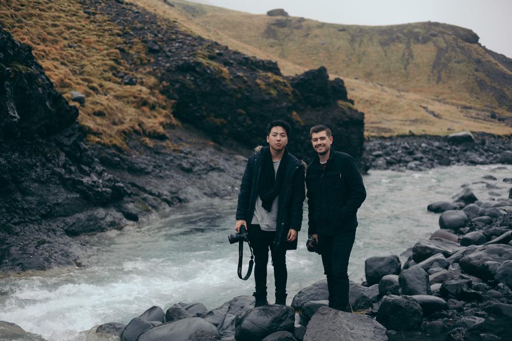 Copy of Iceland Trip Day 2 Jonathan Grado and Mitch Phun