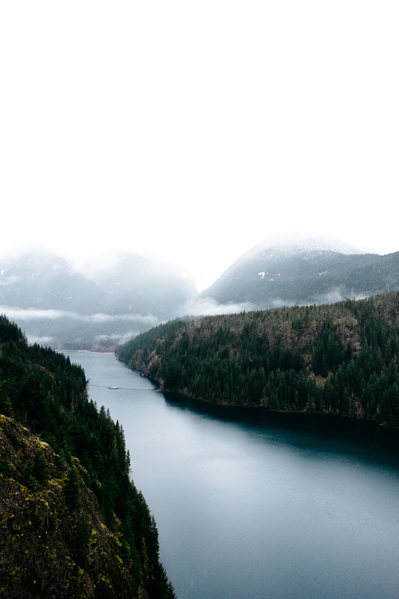 North Cascades and Diablo Lake