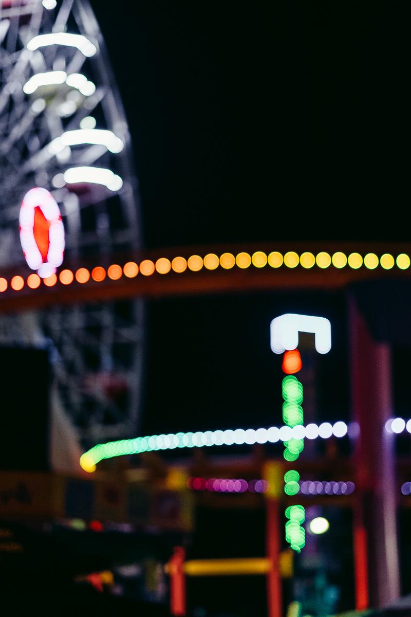 Santa Monica Pier Bokeh