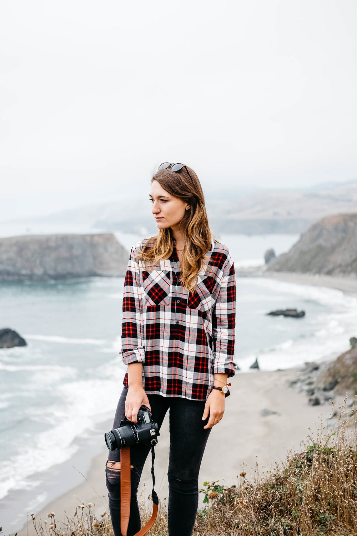 Julia Delorenzo Portrait at Goat Rock Beach
