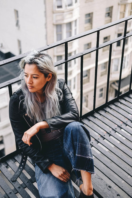 Dana Shaps Fire Escape Portraits