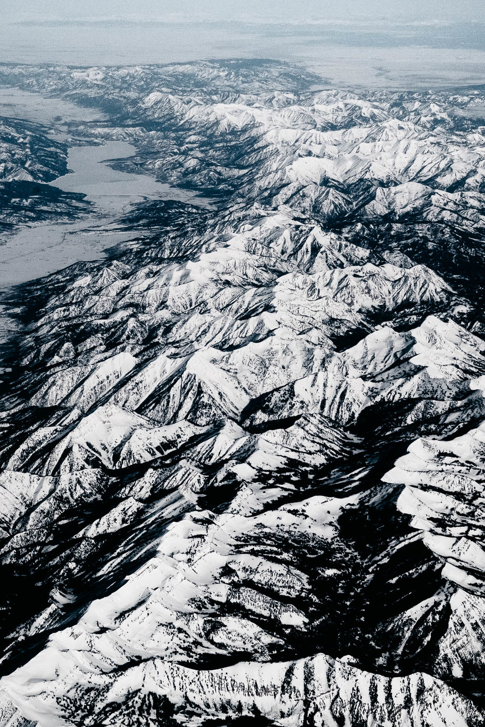 Snowy Rocky Moutains