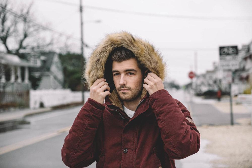Copy of Jonathan Grado in Red Coat