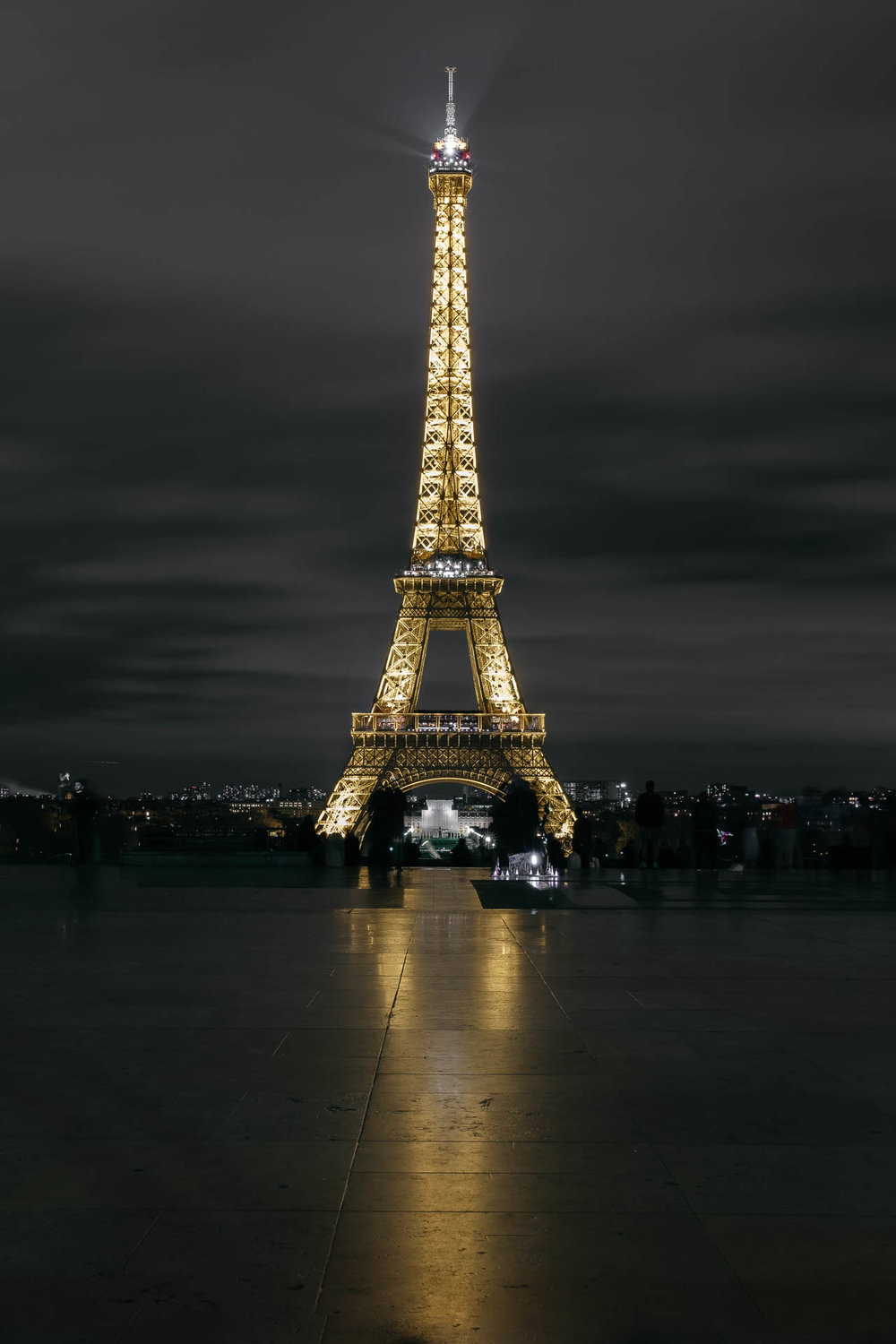 Paris Day 1 Eiffel Tower Long Exposure