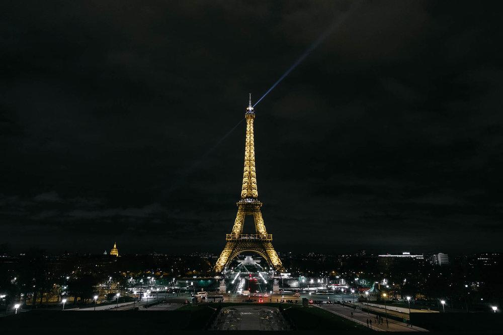 Paris Day 1 Eiffel Tower Long Exposure
