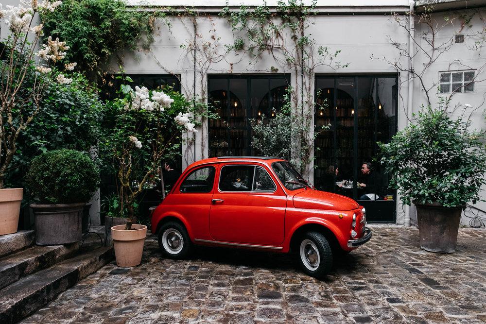Paris Day 4 Merci Storefront