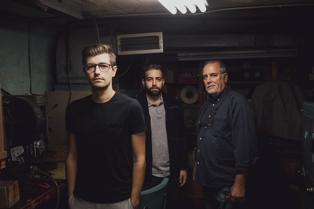 Jonathan, Matthew, John Grado for Uncrate Magazine Portrait