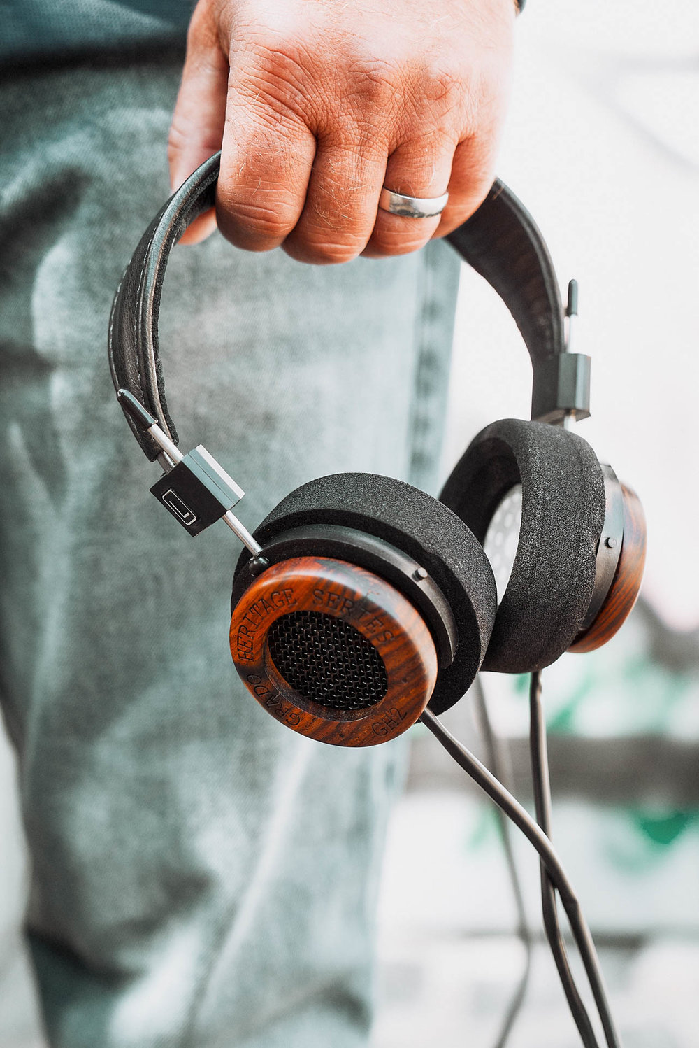 Grado GH2 Wooden Headphone