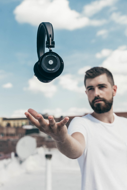 Copy of Levitating Wireless Grado GW100 Headphones by Erick Urgiles