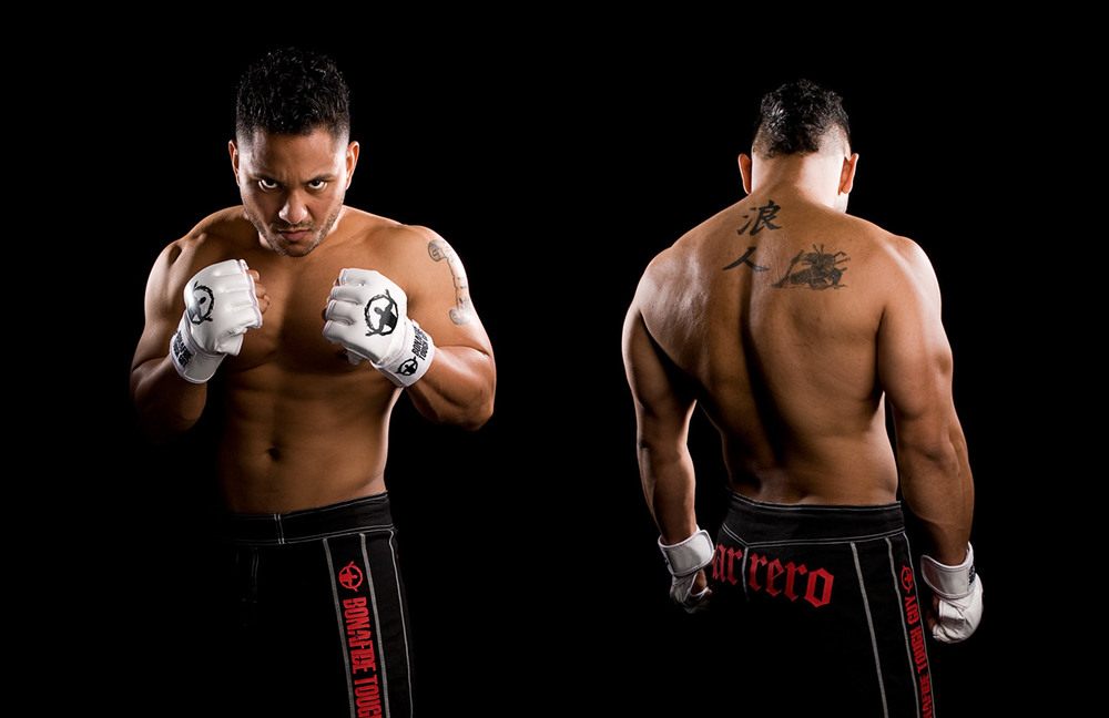 ​Professional MMA fighter Hans Marrero