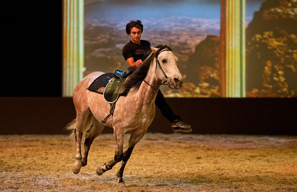 Timur Apaev,  trick rider