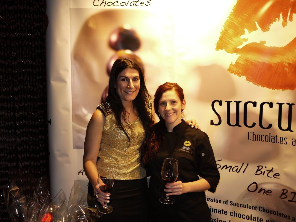 Chef Sandra with Owner of STLTO Wine, Sarah Liberatore