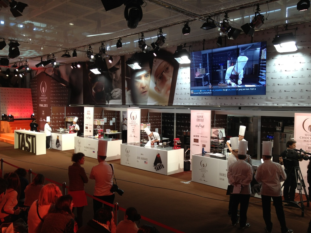 World Chocolate Masters Finals 2013