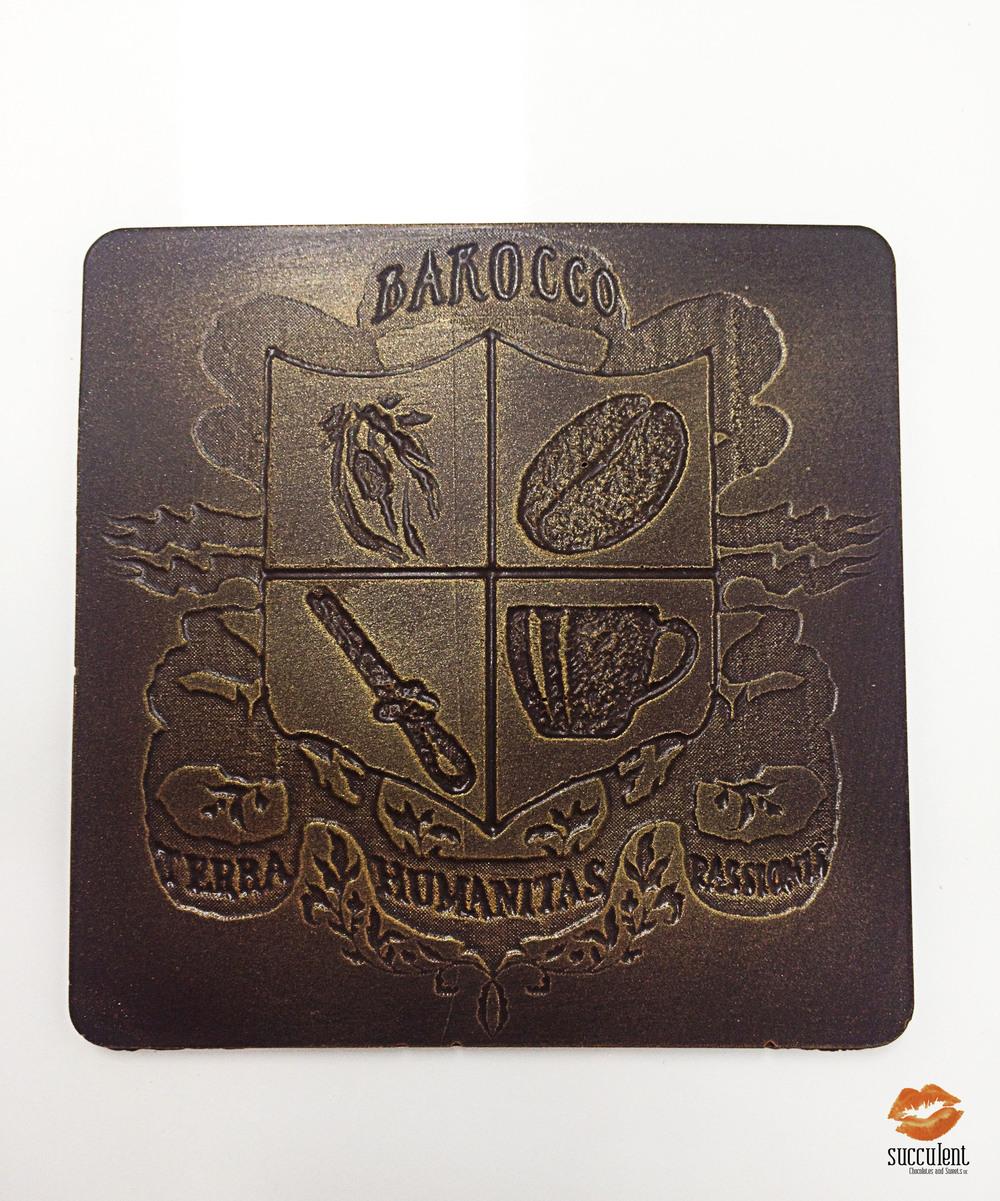 Copy of Succulent_Chocolates_Vaughan_Custom Bar_Barocco_Coffee