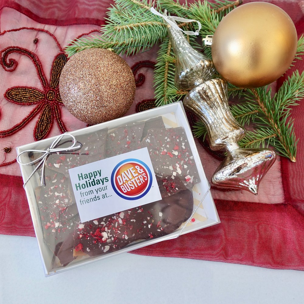 200g Box of Candy Cane Toffee $15.00