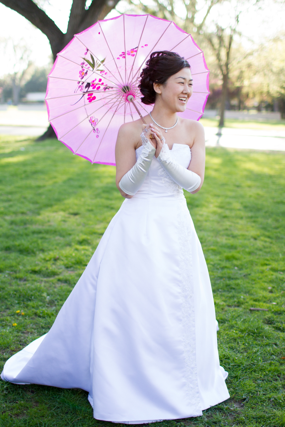 DC cherry blossoms wedding
