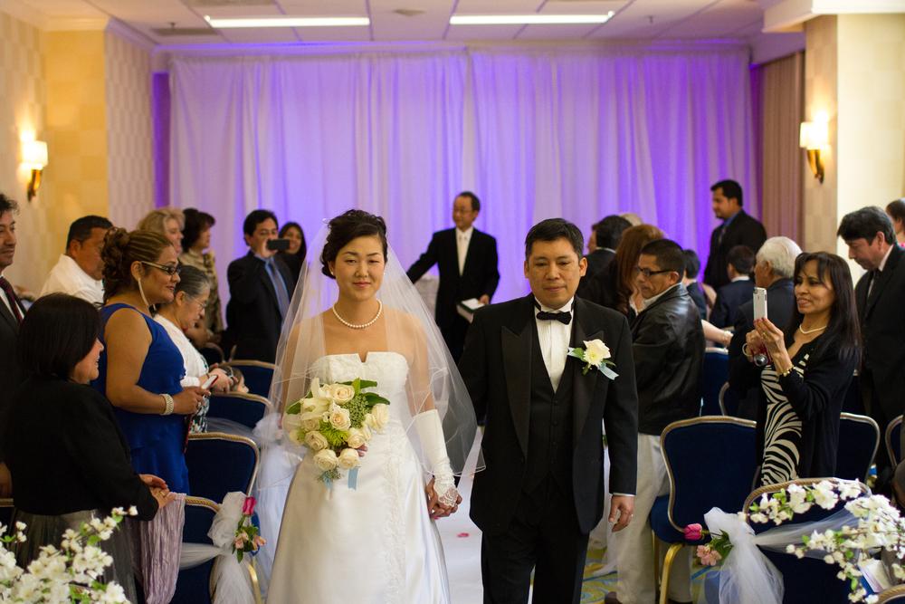 Washington Marriott Georgetown wedding
