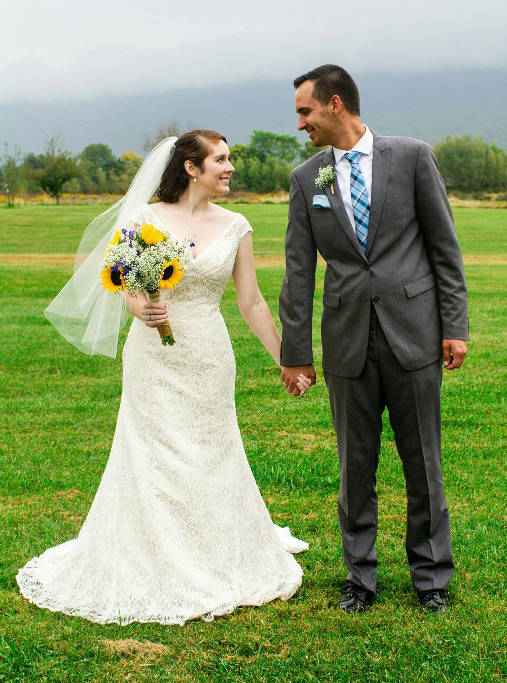One year anniversary Luray wedding