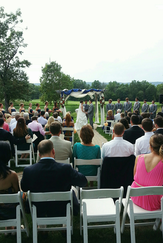 Bull Run Golf Course wedding