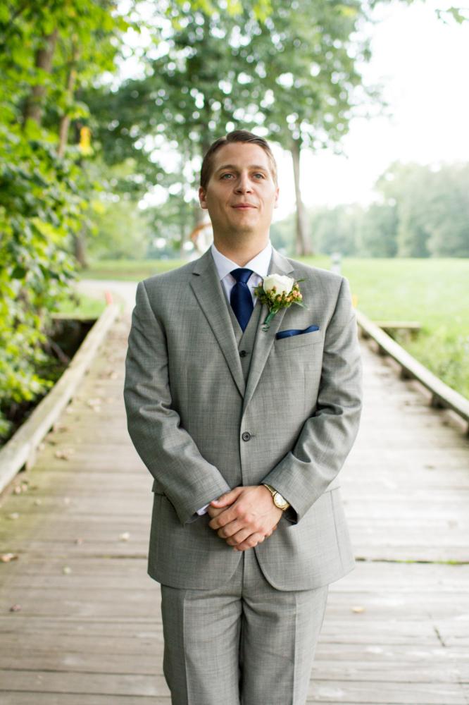 First look | Bull Run Golf Club wedding