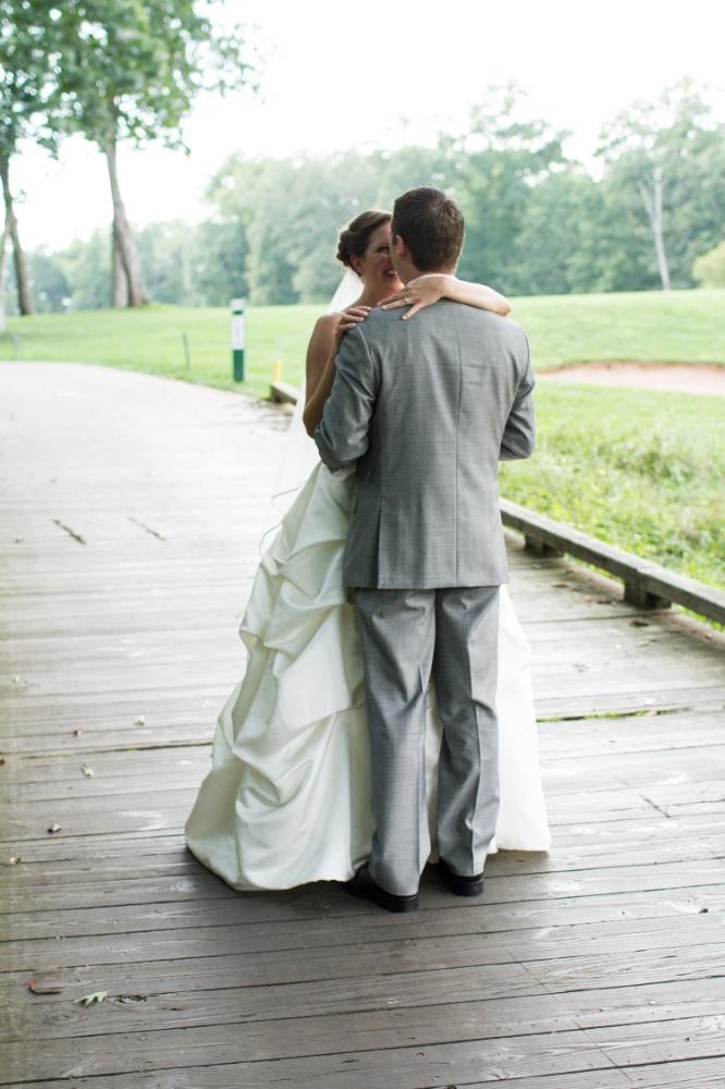 First look | Haymarket wedding