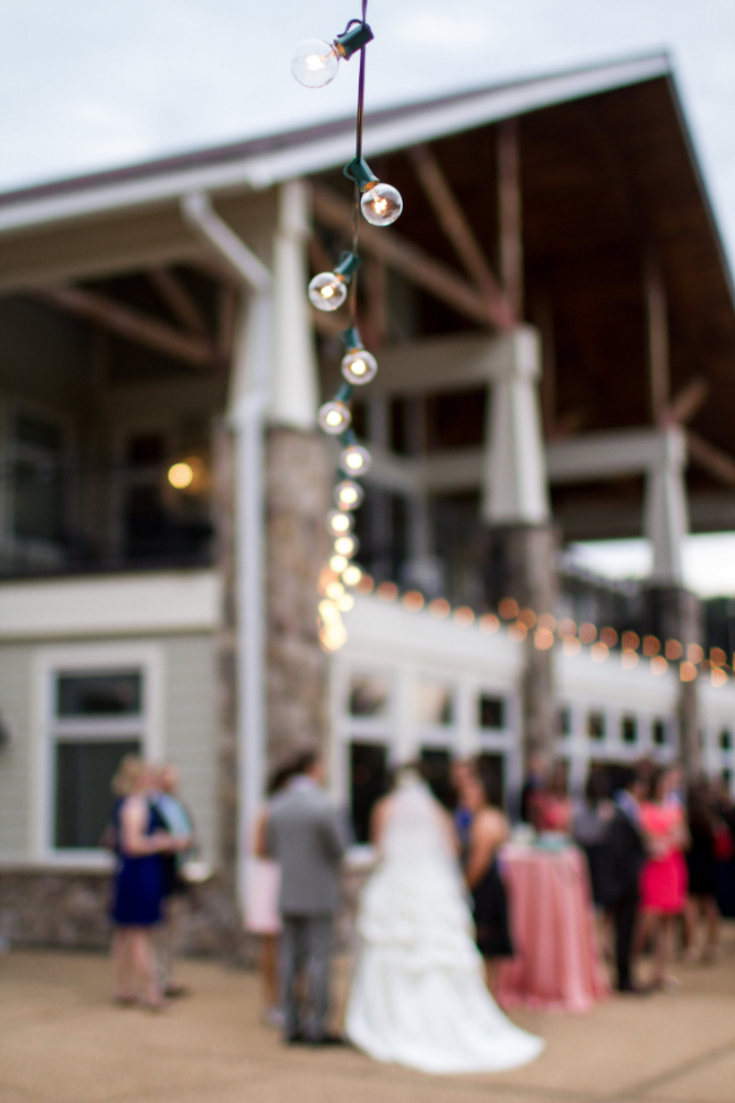 Wedding cocktail hour | Bull Run Golf Club