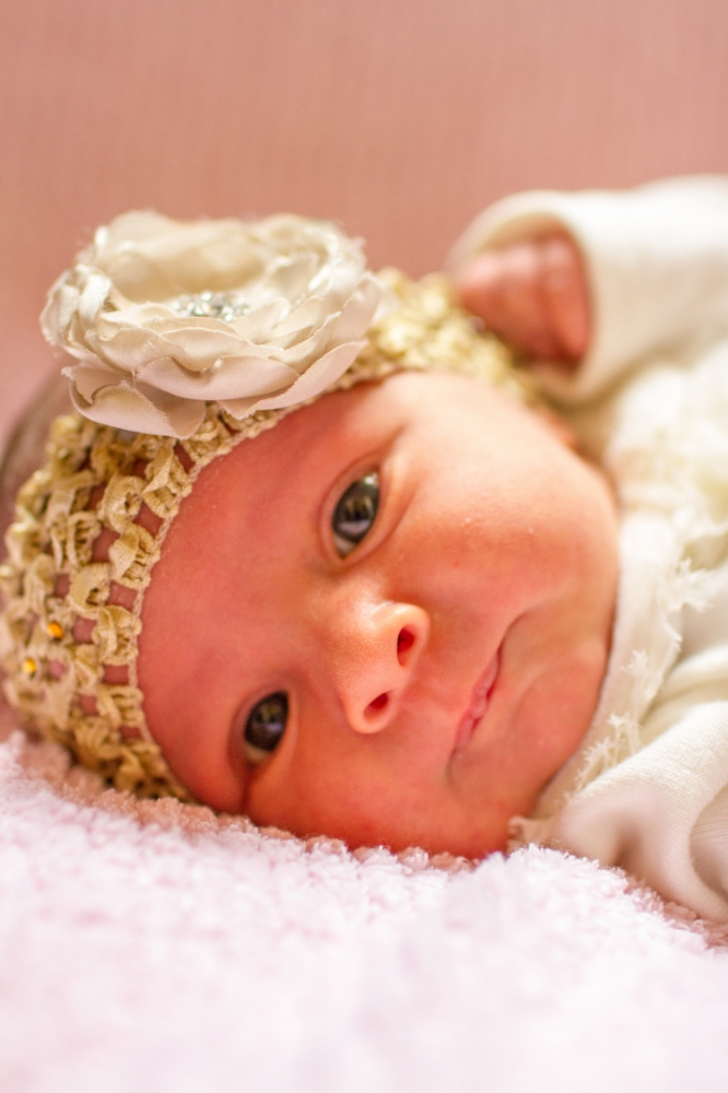 Beautiful newborn headband