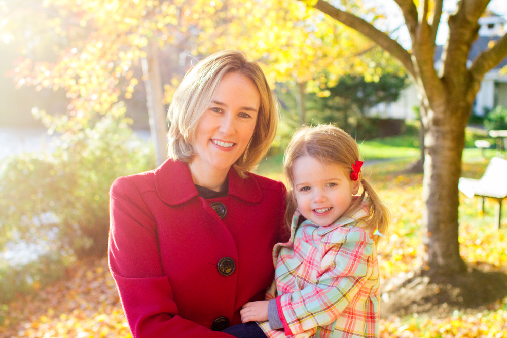 Fall family photos Northern Virginia photographer