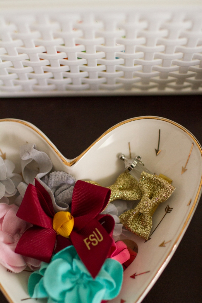Nursery hair bow display | Lorin Marie Photography