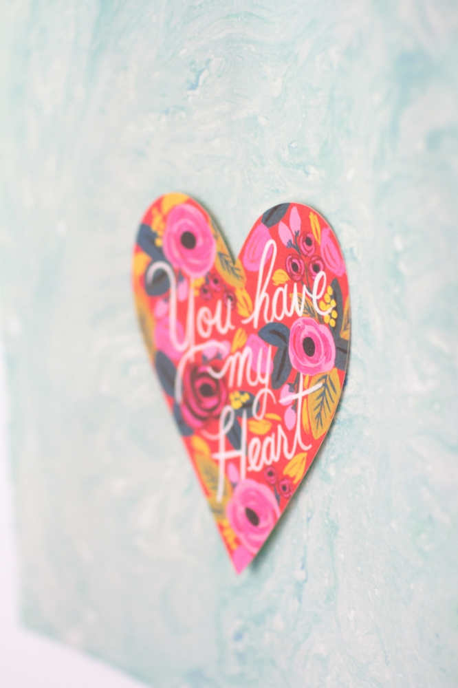Rifle Paper Co You Have My Heart print | Lorin Marie Photography