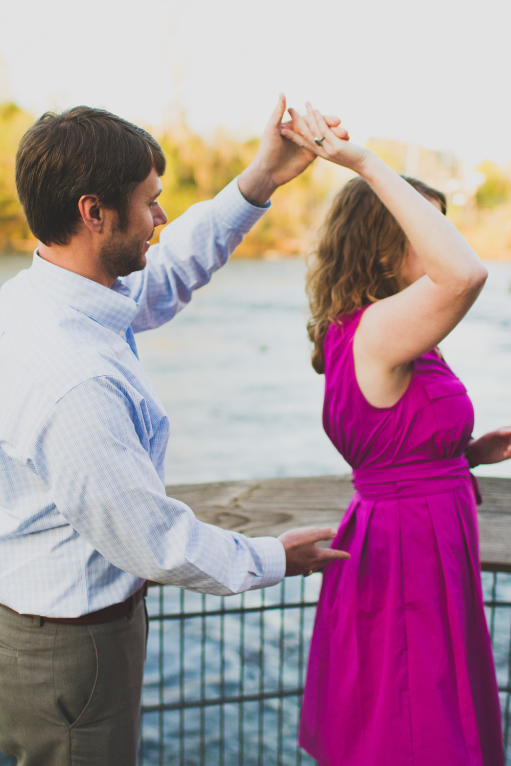 Dancing by the Riverwalk | Lorin Marie Photography