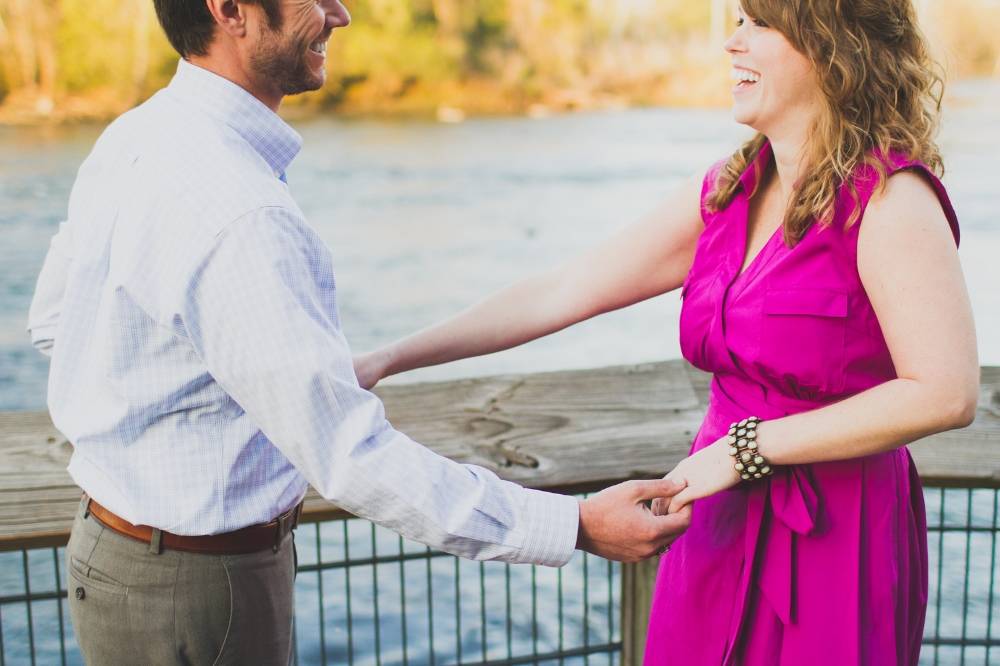 Dancing by the river Columbia SC | Lorin Marie Photography
