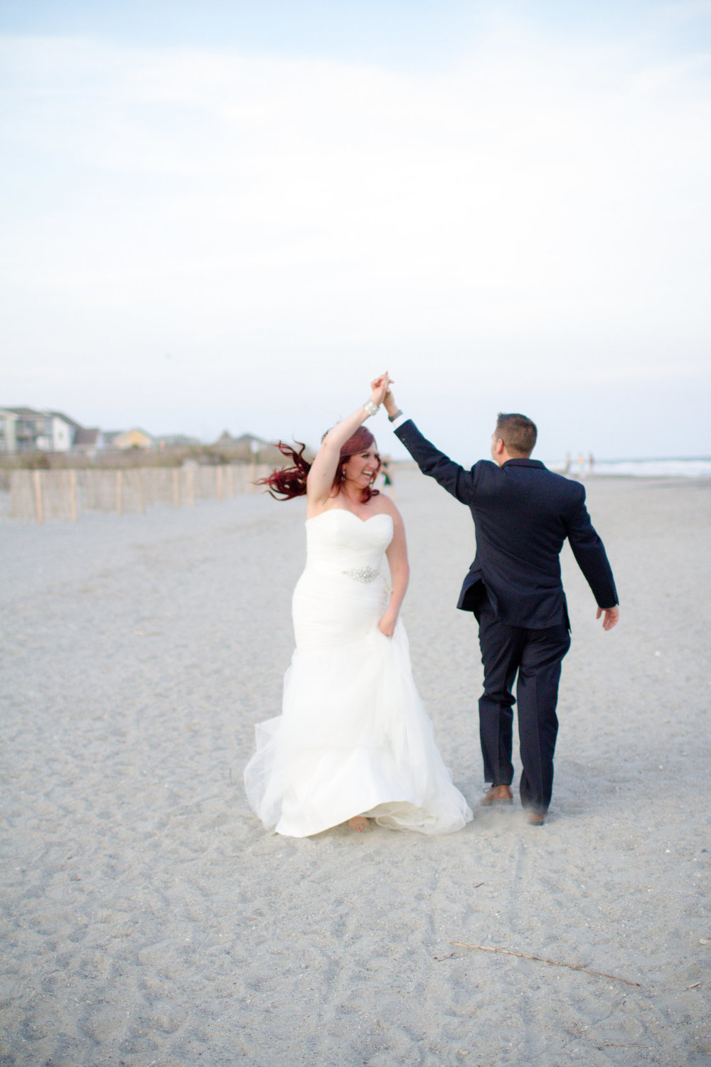 Folly Beach wedding photos | Lorin Marie Photography