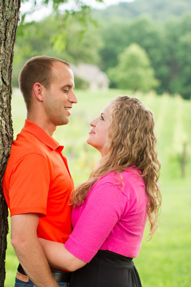 Engagement photos Virginia