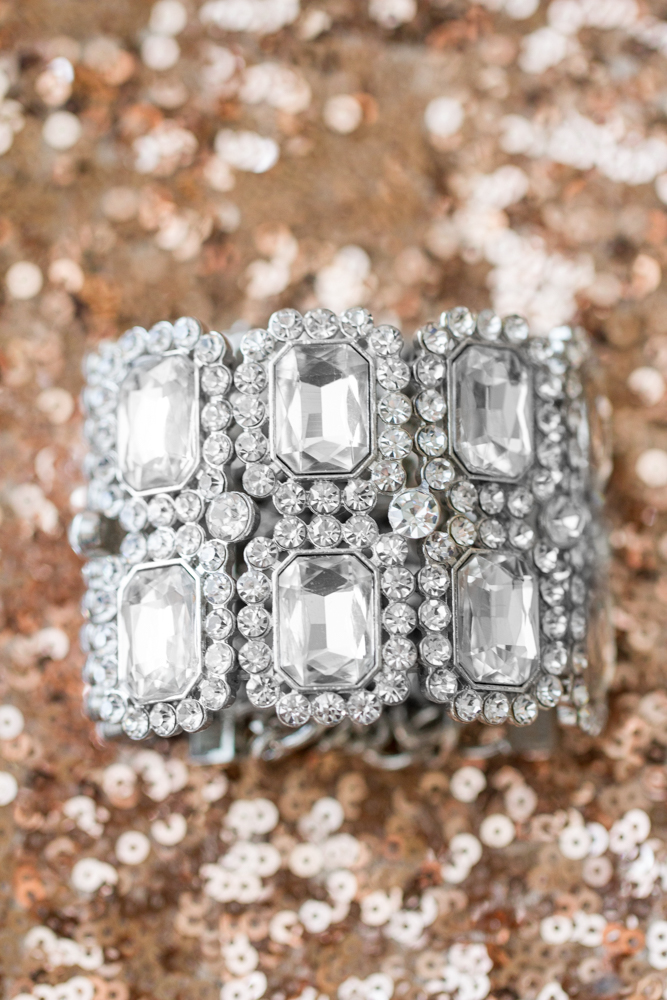Diamond bridal bracelet