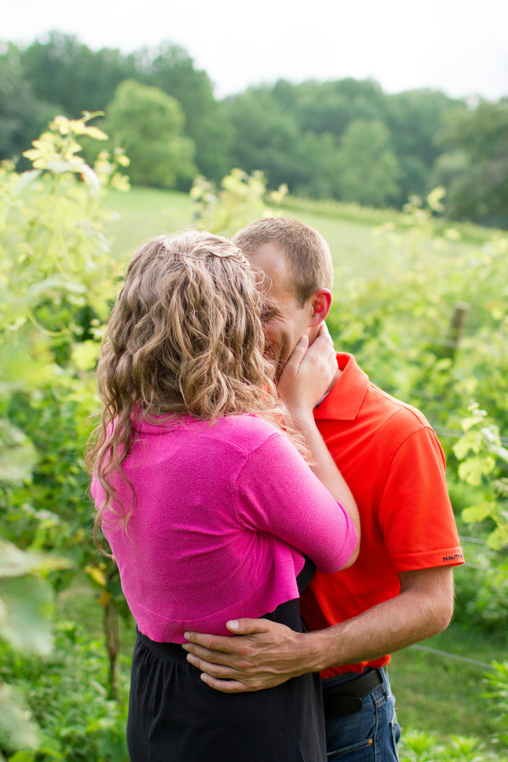Winery engagement | Lorin Marie Photography