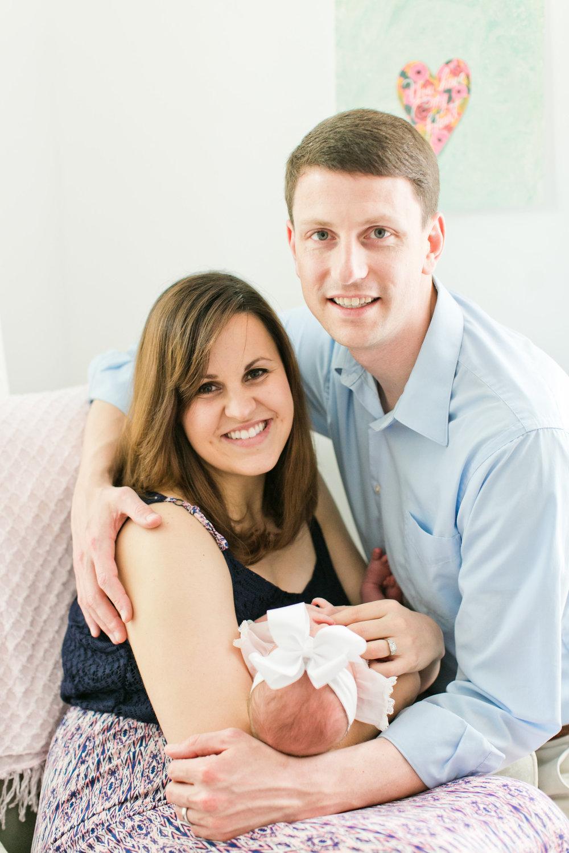 Newborn portrait session 2
