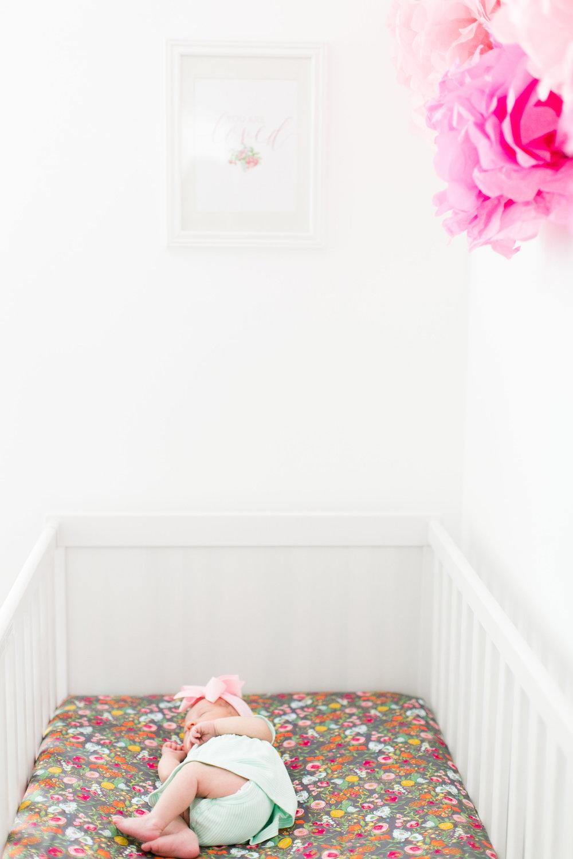 Baby girl newborn session 2