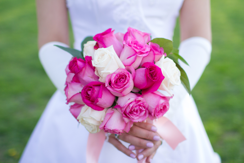 Pink bridal bouquet | Lorin Marie Photography | Columbia photographer