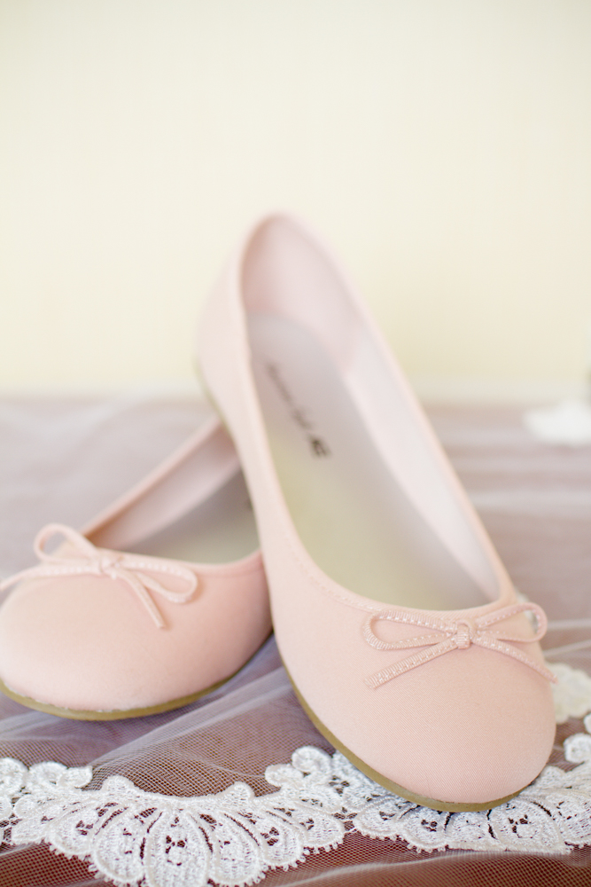 Pink ballet flats | Lorin Marie Photography