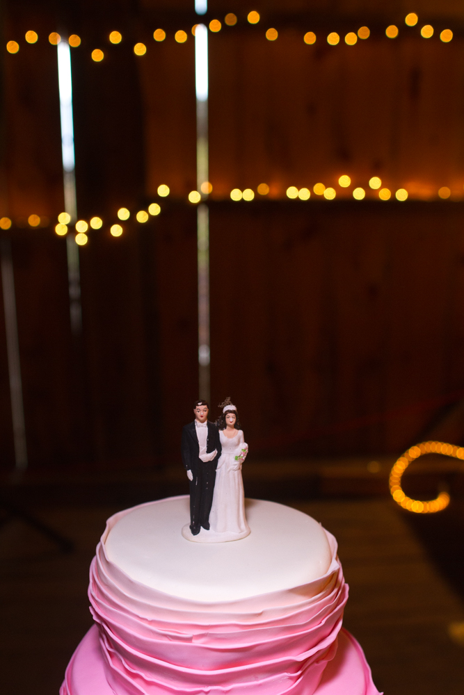 Vintage cake topper | Lorin Marie Photography