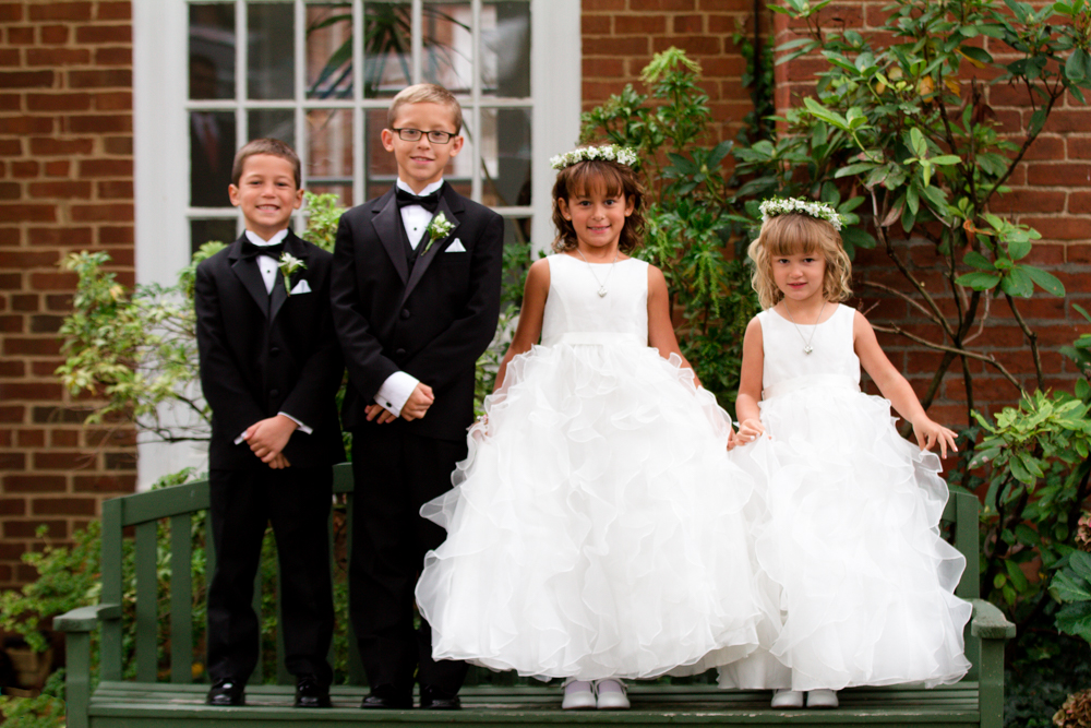 Cute flower girls | Lorin Marie Photography