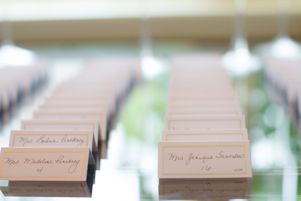 Wedding guest display cards | Lorin Marie Photography