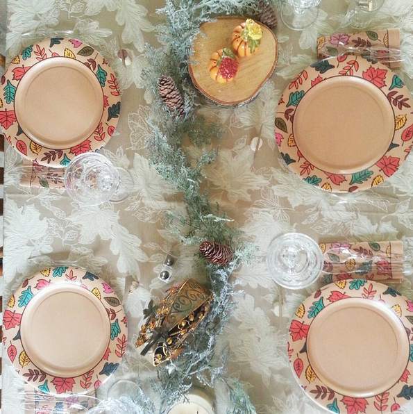 Thanksgiving tablescape Columbia photographer | Lorin Marie Photography