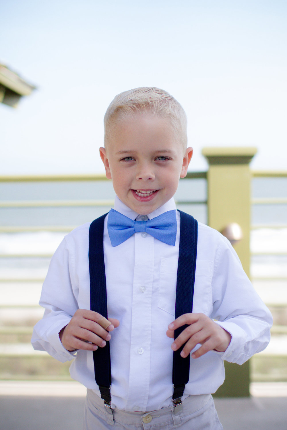 Adorable ring bearer | Lorin Marie Photography