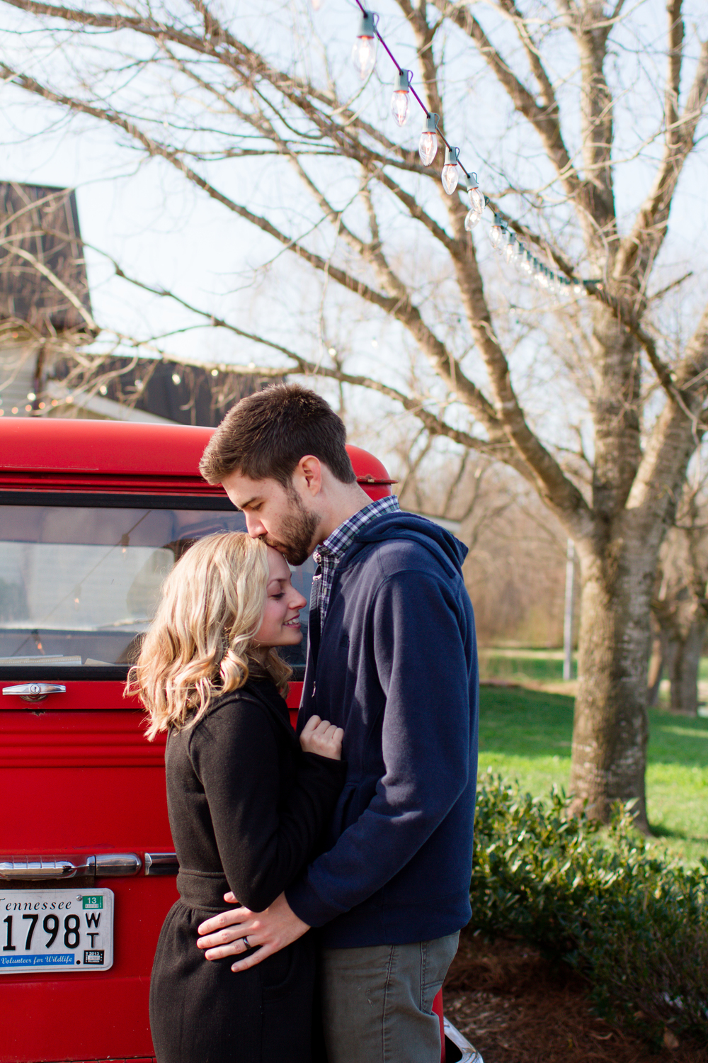 Classic vintage truck engagement photos | Lorin Marie Photography