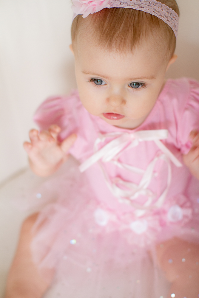 Pink baby tutu | Lorin Marie Photography