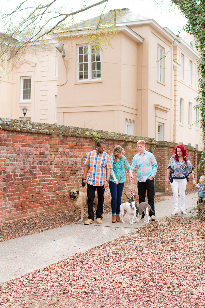 Family portrait session The Horseshoe Columbia SC | Lorin Marie Photography