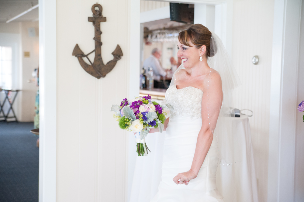 First look | Cape Cod wedding photographer | House of Lubold Photography