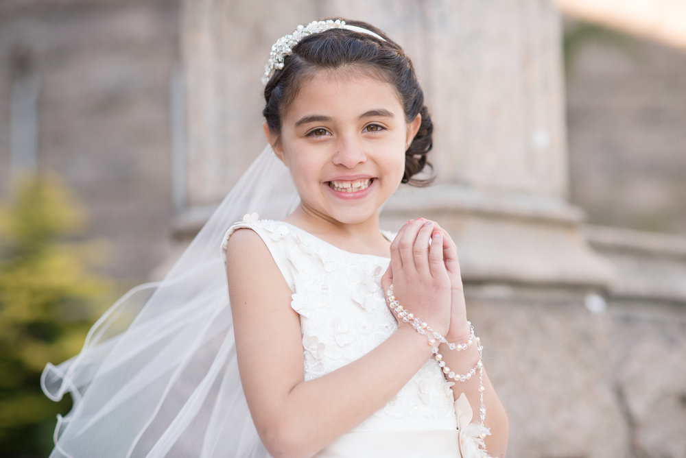 Fall River First Communion Portraits